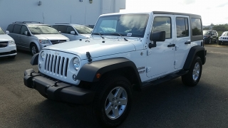 Jeep Wrangler Unlimited Sport Blanco 2015