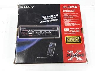Sony Xplod CDX-GT24W Car Radio