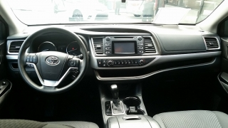 Toyota Highlander LE Negro 2014