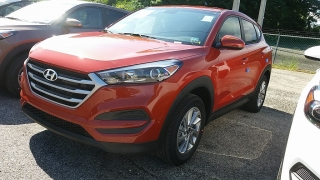 Hyundai Tucson Se Orange 2017