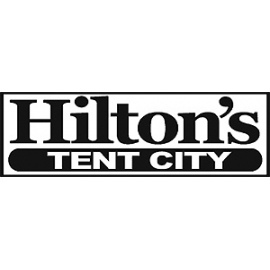 Hilton's Tent City in Boston MA
