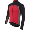 Black / True Red - Pearl Izumi - Men's P.R.O. Pursuit Thermal Jersey