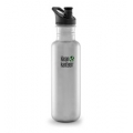 Brushed Stainless - Klean Kanteen - 27 oz. Classic Bottle With Sport Cap