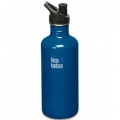 Blue Planet - Klean Kanteen - Stainless Steel 40 oz. With Sport Cap Bottle BPA Free