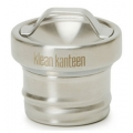 Brushed Stainless - Klean Kanteen - Kleen Kanteen All Stainless Loop Cap - Brushed Stainless