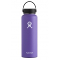 Plum - Hydro Flask - - 40 oz Wide Mouth - White