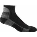 Black - Darn Tough - Hiker 1/4 Sock Cushion