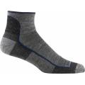 Charcoal - Darn Tough - Men's Merino Wool 1/4 Sock Ultra-Light