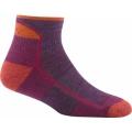 Plum Heather - Darn Tough - Hiker 1/4 Sock Cushion