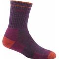 Plum Heather - Darn Tough - Hiker Micro Crew Sock Cushion