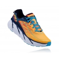 Medieval Blue / Gold Fusion - HOKA ONE ONE - Clifton 3