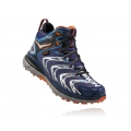 Medieval Blue / Red Orange - HOKA ONE ONE - Men's Tor Speed 2 Mid WP