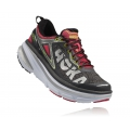 Grey / Teaberry - HOKA ONE ONE - Bondi 4