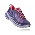 Mulberry Purple / Neon Pink - HOKA ONE ONE - Bondi 4