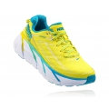 Citrus / Blue Jewel - HOKA ONE ONE - Women's Clifton 3