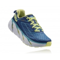True Blue / Sunny Lime - HOKA ONE ONE - Women's Clifton 3