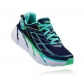 Medieval Blue / Spring Bud - HOKA ONE ONE - Women's Clifton 3
