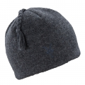 Charcoal Heather - Ibex - Top Knot Hat