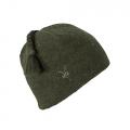 Acorn Heather - Ibex - Top Knot Hat
