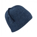 Baltic Heather - Ibex - Top Knot Hat