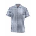 Oxford Blue Plaid - Simms - Big Sky SS Shirt