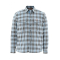 Tidal Blue Plaid - Simms - ColdWeather LS Shirt