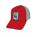 Scarlet - Simms - Patch Trucker Cap
