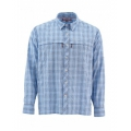 Harbor Blue Plaid - Simms - Stone Cold LS Shirt