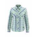 Celery Plaid - Simms - Women's Big Sky LS Shirt
