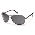 Gunmetal - Suncloud - Aviator - Gray Polarized Polycarbonate