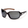 Black Backpaint - Suncloud - Cookie - Gray Polarized Polycarbonate
