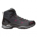 Anthracite/Berry - LOWA Boots - Ferrox GTX Mid Ws