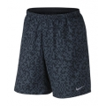 Squadron Blue/Reflective Silver - Nike - Mega Pixel Distance Shorts - Men's-Black-L