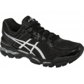 Onyx/Silver/Charcoal - Asics - GEL-Kayano 22