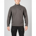 Polar/Black/Polar - Spyder - Mens Outbound Half Zip Sweater - Sale Polar/Black/Polar Medium