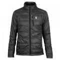 Polar/Black/Volcano - Spyder - Glissade Insulator Jacket Men's, Polar/Black/Volcano, XL