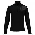 Black-Polar - Spyder - Bandit Half Zip Mens Sweater
