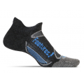Charcoal/Brilliant Blue - Feetures! - Merino+ Cushion No Show Tab