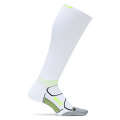 White/Reflector - Feetures! - Light Cushion Knee High Compression