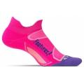 Pink Pop/Iris - Feetures! - Elite Light Cushion No Show Tab