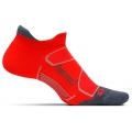Lava/Graphite - Feetures! - Elite Max Cushion No Show Tab