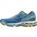 Electric Blue Lemonade / Dress Blue / Lime Punch - Mizuno - Men's Wave Paradox 2 Shoe