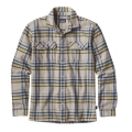Blue Ox: Tailored Grey - Patagonia - Men's L/S Fjord Flannel Shirt