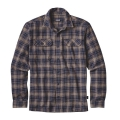 Valley Oak: Navy Blue - Patagonia - Men's L/S Fjord Flannel Shirt
