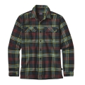 Windrow: Carbon - Patagonia - Men's L/S Fjord Flannel Shirt