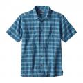 Deetjen: Radar Blue - Patagonia - Men's Back Step Shirt
