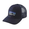 Navy Blue - Patagonia - P-6 Logo Trucker Hat