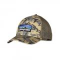 Big Camo: Classic Tan - Patagonia - P-6 Logo LoPro Trucker Hat