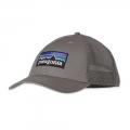 Feather Grey - Patagonia - P-6 Logo LoPro Trucker Hat