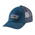 Big Sur Blue - Patagonia - P-6 Logo LoPro Trucker Hat